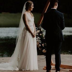 Stunning BHLDN Reagan Wedding Gown
